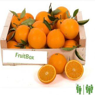 Caja de naranjas online mesa